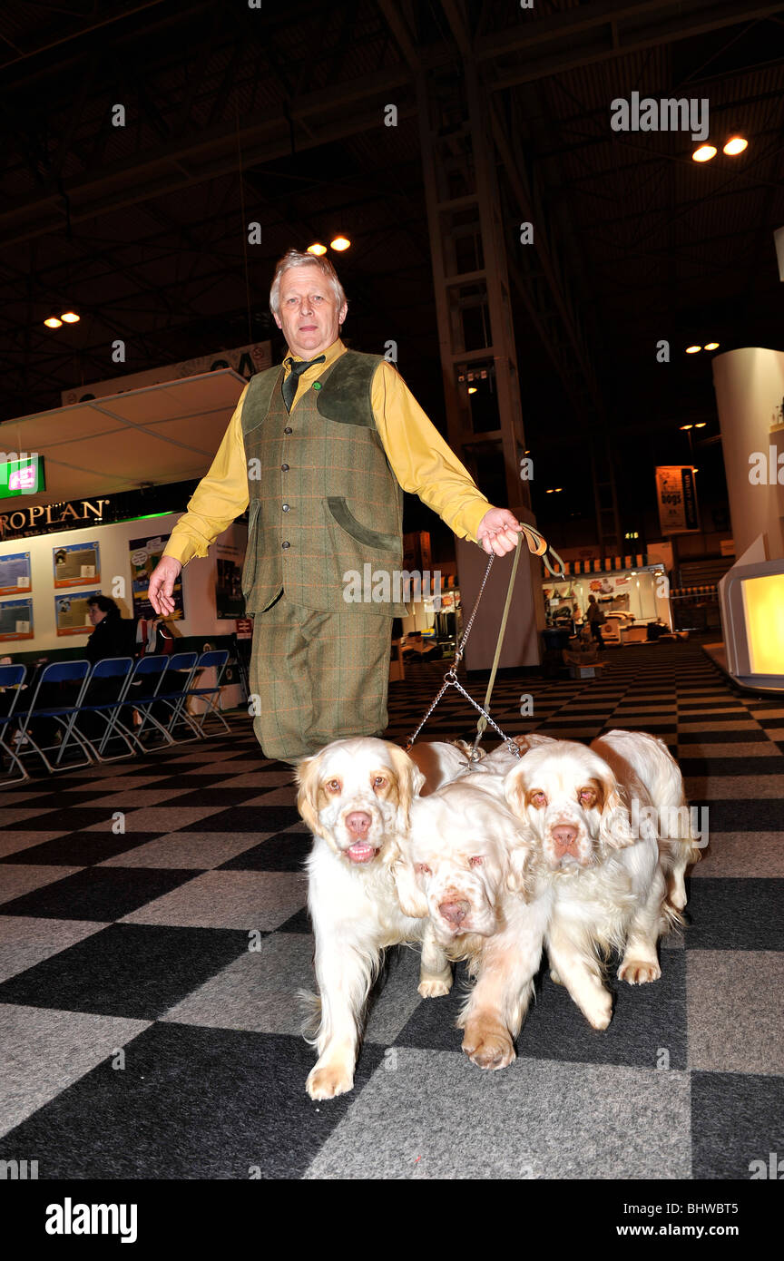 game keepers classes crufts - Stock Image