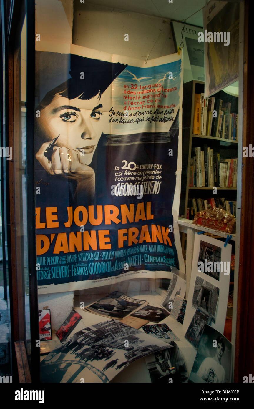 Amsterdam Jew Anne Frank Dutch Jewish girl 2 World War  1940 1945   Le Journal France Paris - Stock Image