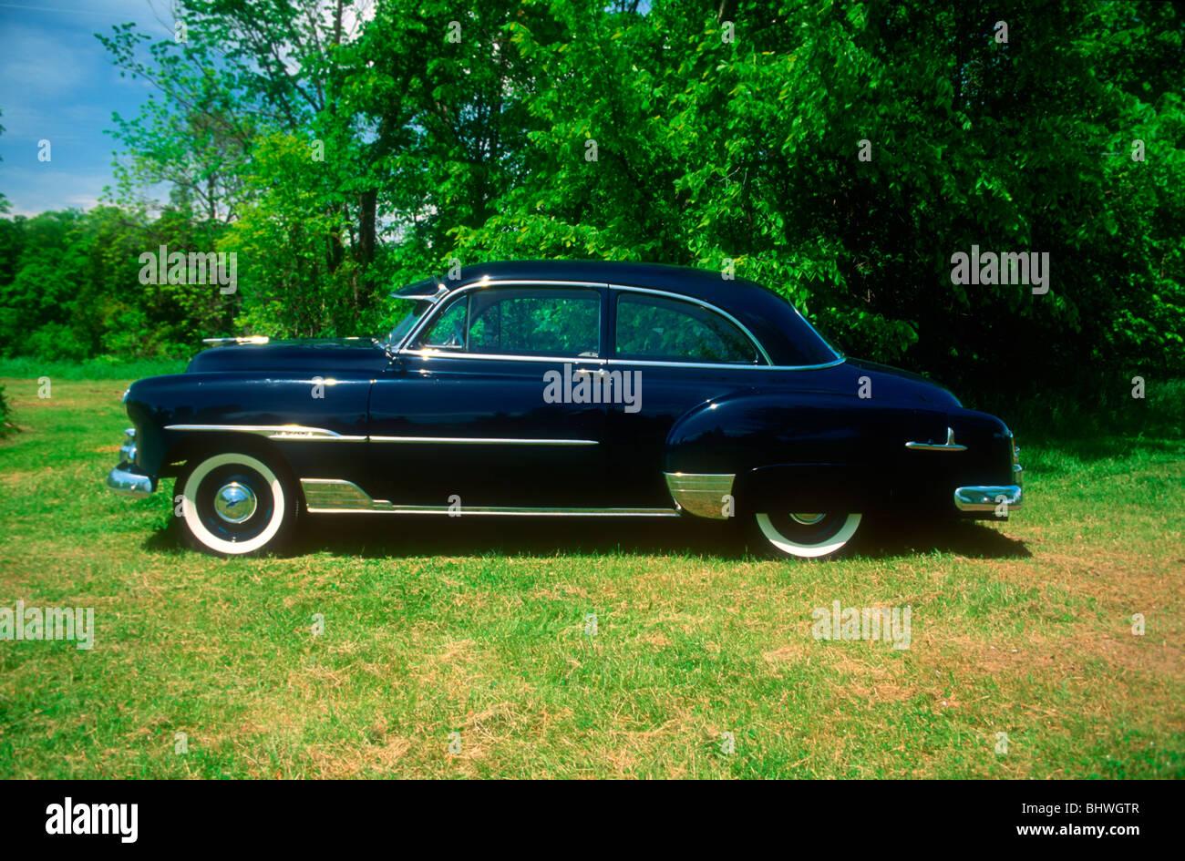 1951 Chevrolet Deluxe Stock Photos 2 Door Skyleline Image