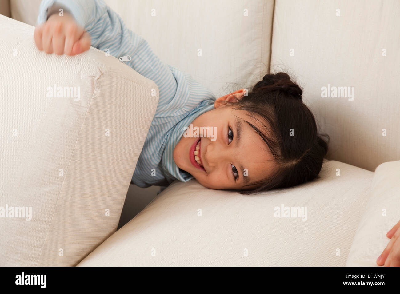 Little girl in leisure time Stock Photo