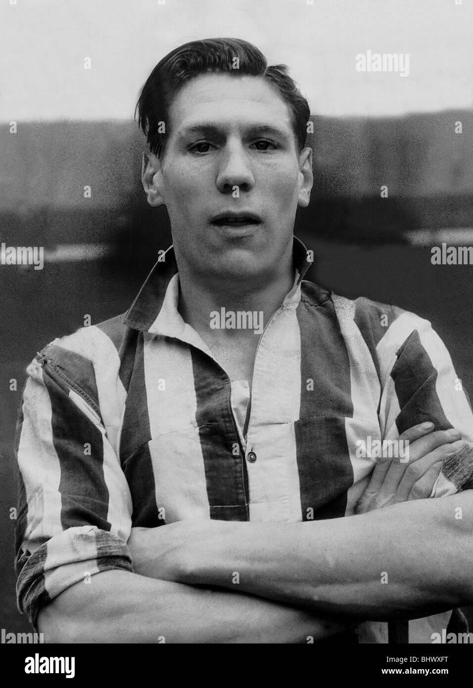 Sunderland and England footballer Len Shackleton 1946 Len Shackleton was one of the most talented footballers of - Stock Image