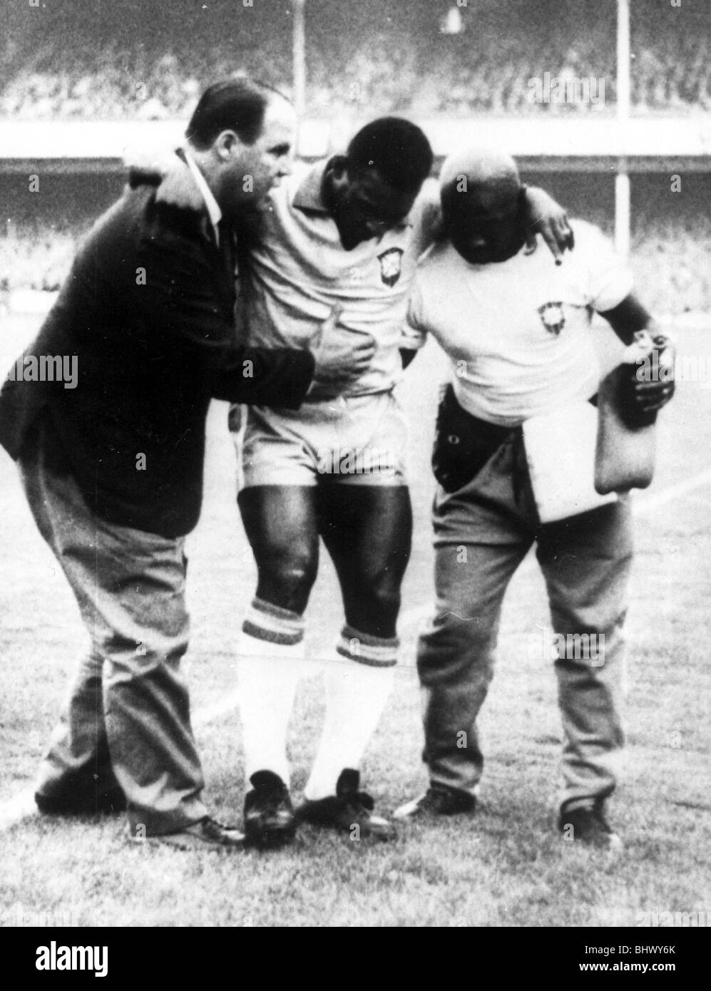 Pele Injured During 1966 World Cup Poster