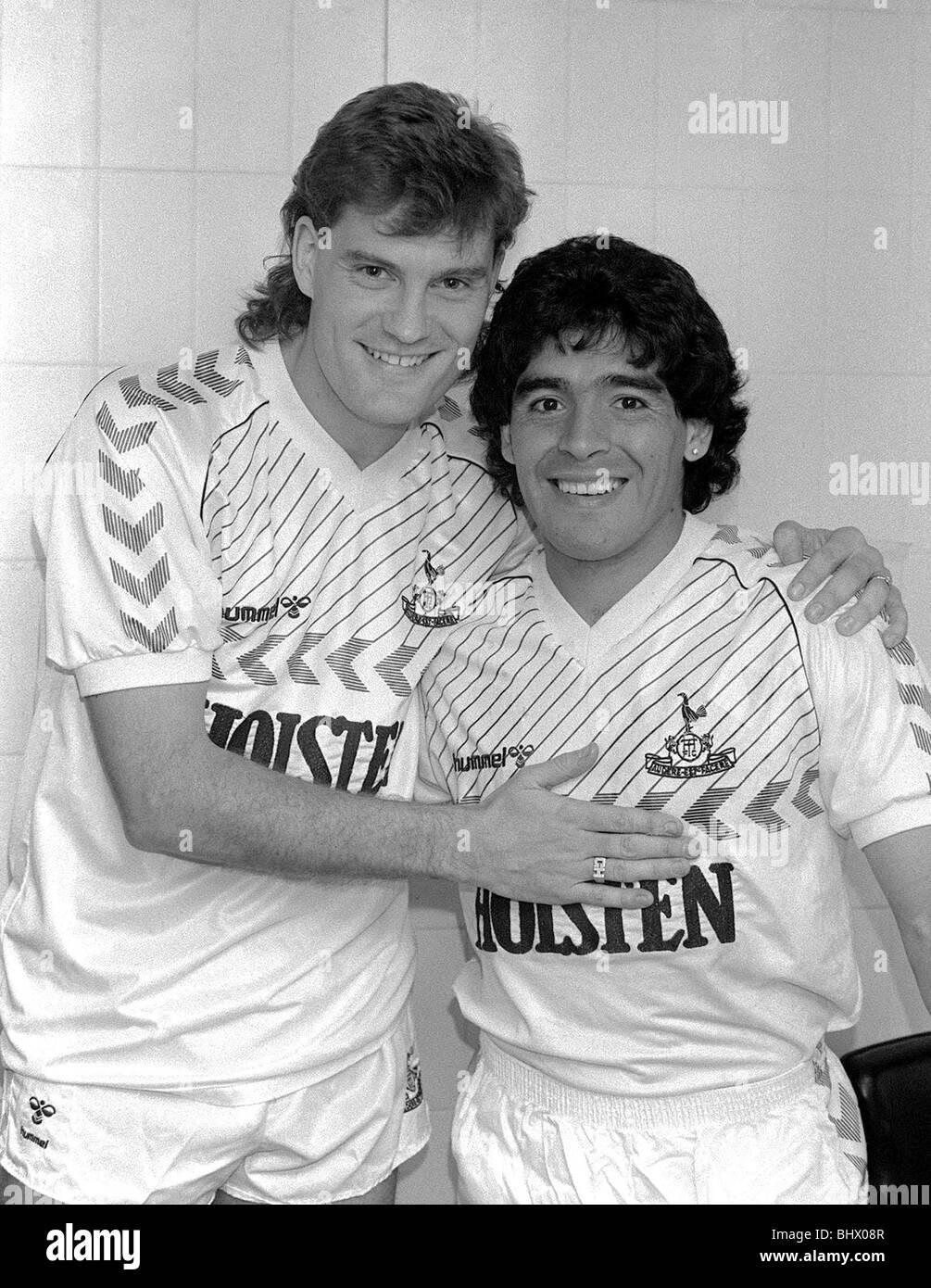 best website 5882d 19fe6 Tottenham Hotspur May 1986 Ossie Ardiles Testimonial Glenn ...