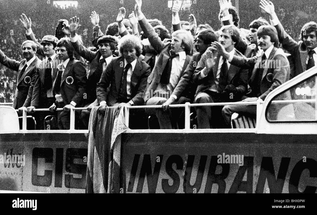 Image result for bus parade hampden scotland 1978