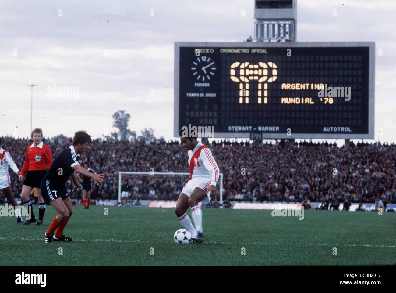 football world cup 1978 scotland 1 peru 3 scotland v peru
