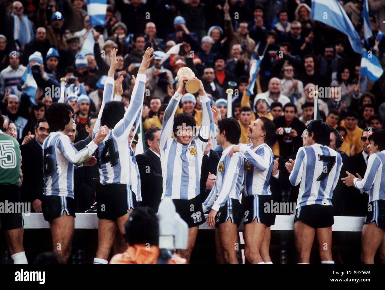 Holland 1 Argentina 3 Football World Cup Final 1978 ...