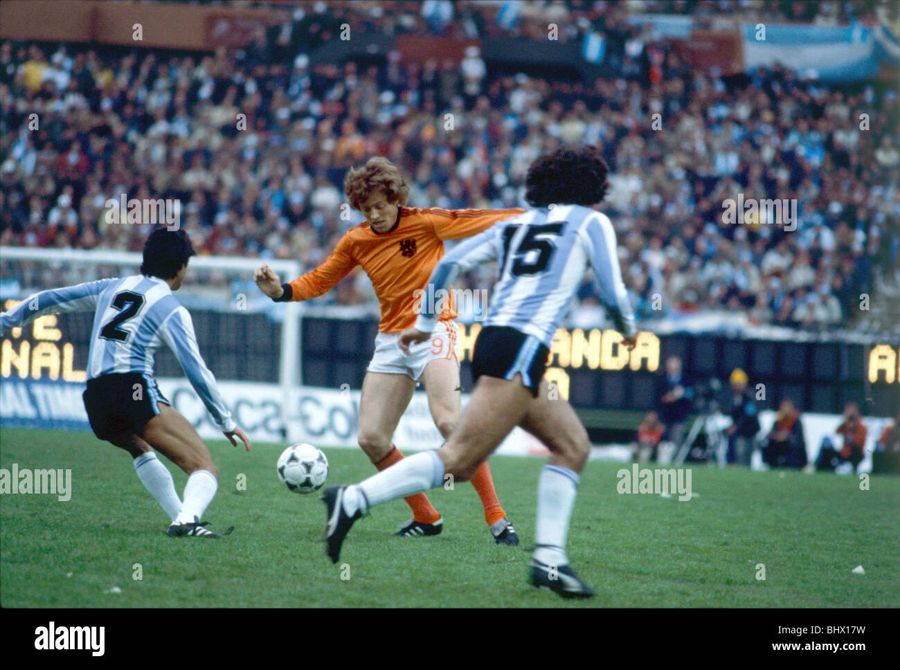 World Cup 1978 Final Holland 1 Argentina 3 after extra ...