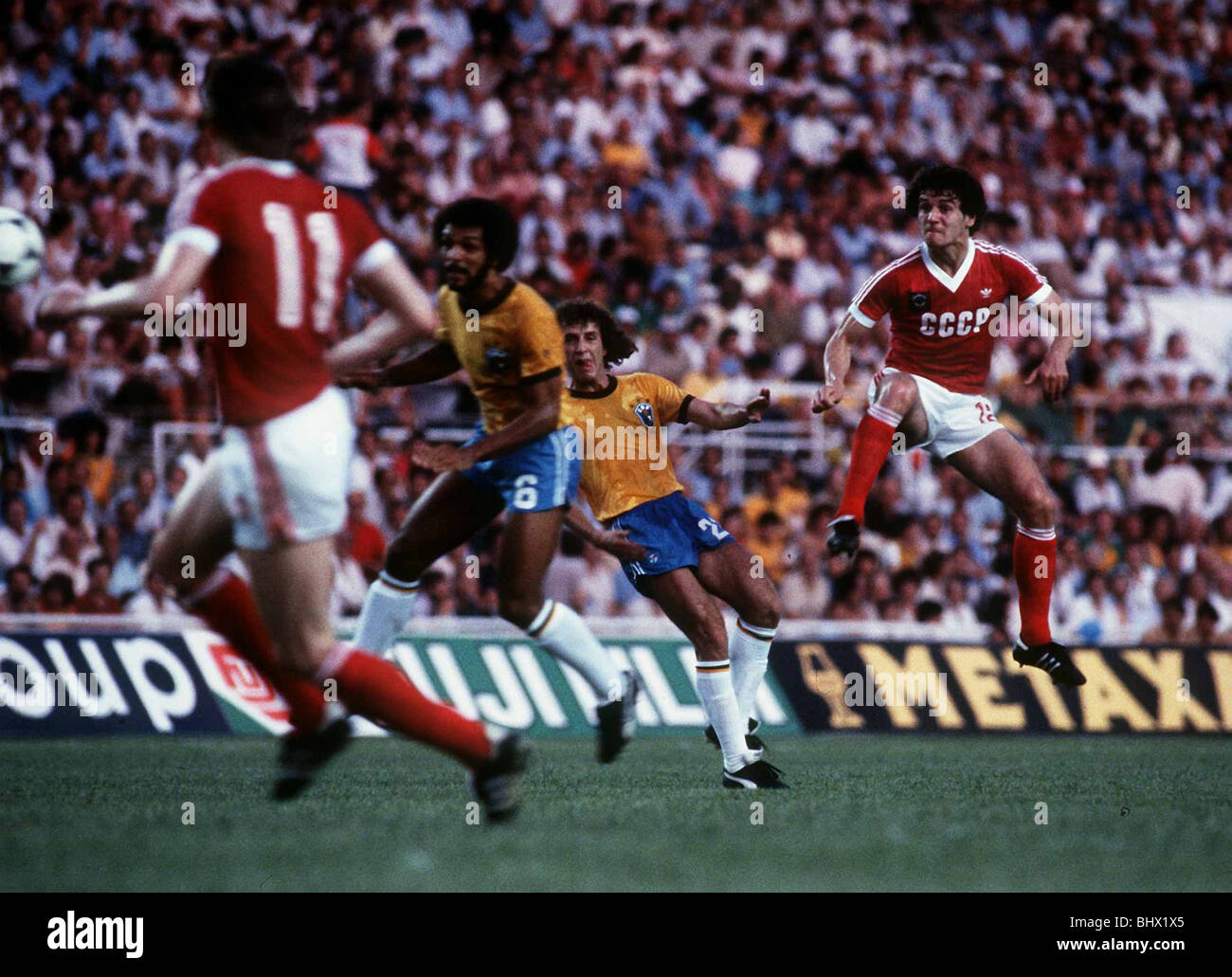 World Cup 1982 Group 6 Brazil 2 Russia 1 Andrei Bal Takes The Lead