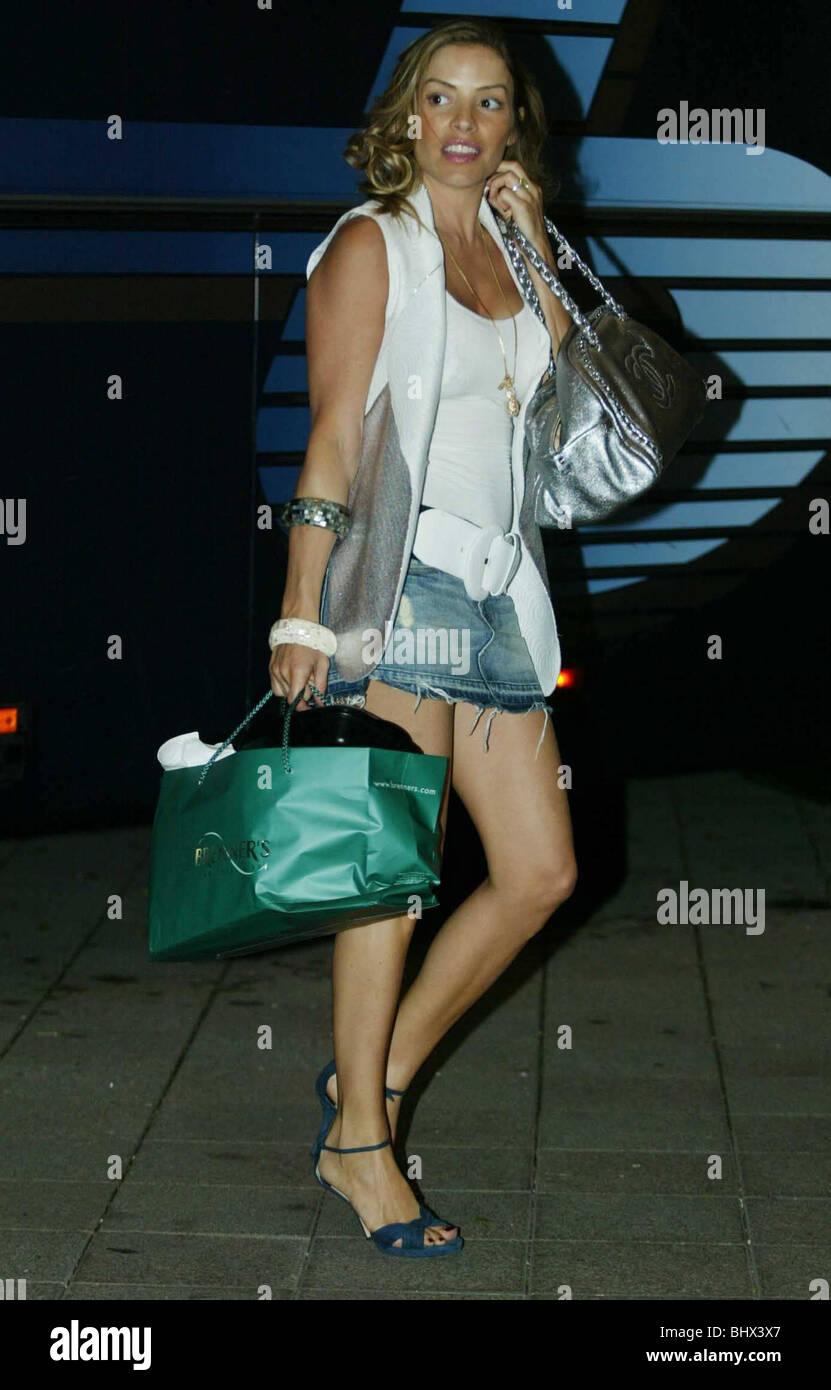Elen Rives The Spanish Model Fianc E Of Frank Lampard Arrives Back At The Brenners Parkel Today After Englands First Knock Out Match In 2006 World Cup
