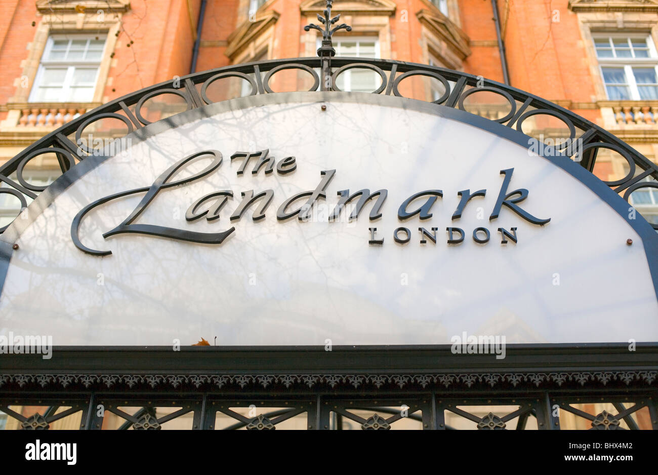 The Landmark Hotel, Marylebone Road, London, England, UK, Europe - Stock Image