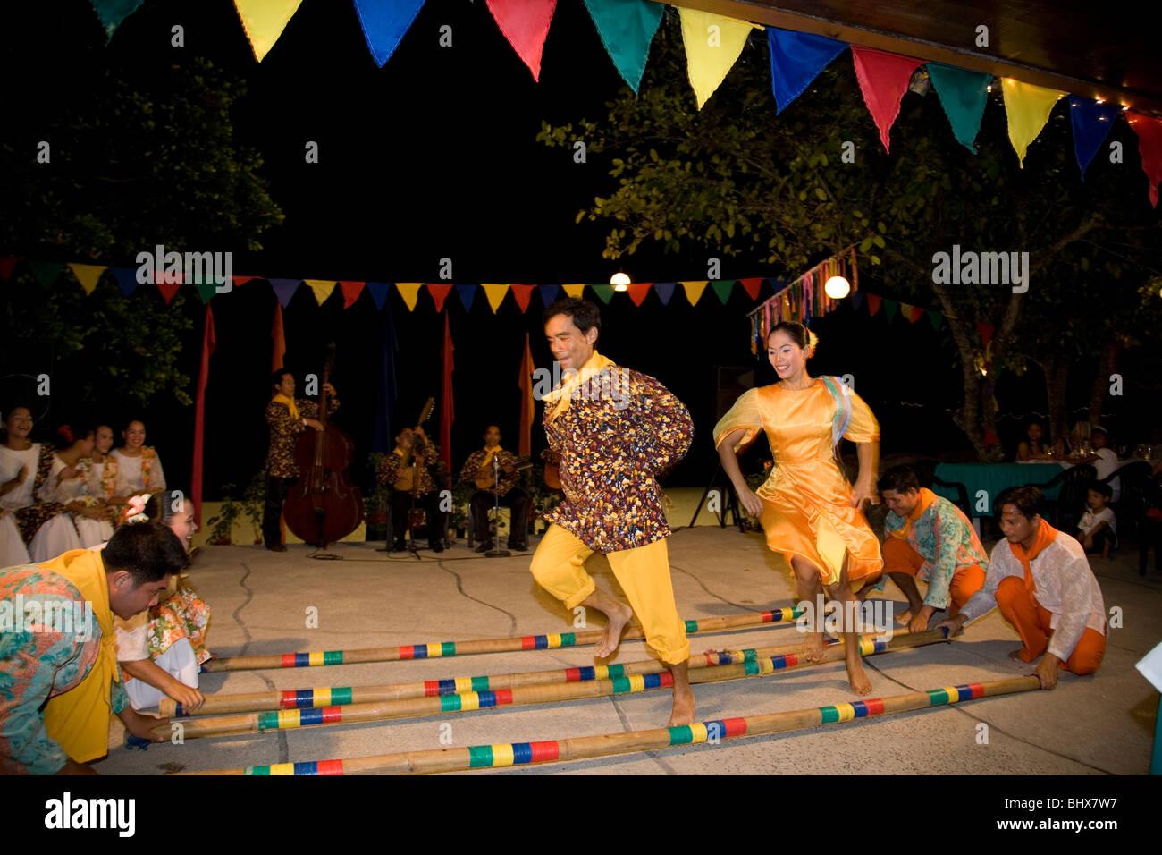 tinikling dance origin