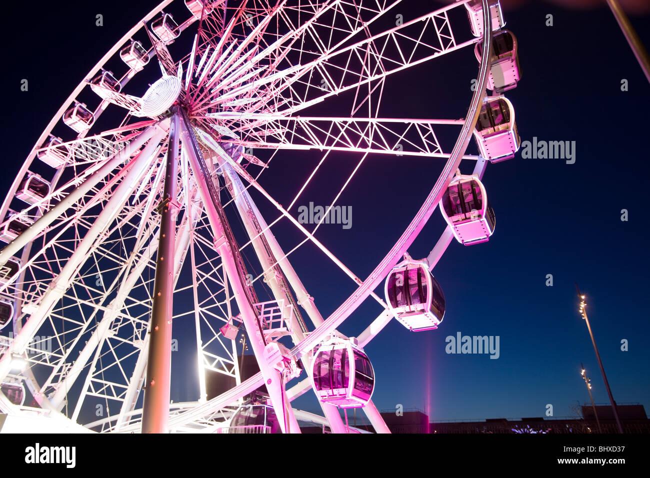 Middlesbrough wheel - Stock Image