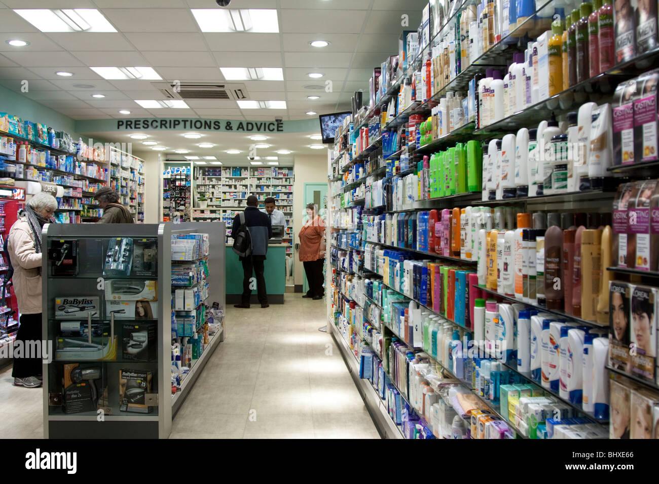 Chemist - Borough High Street - Southwark - London - Stock Image