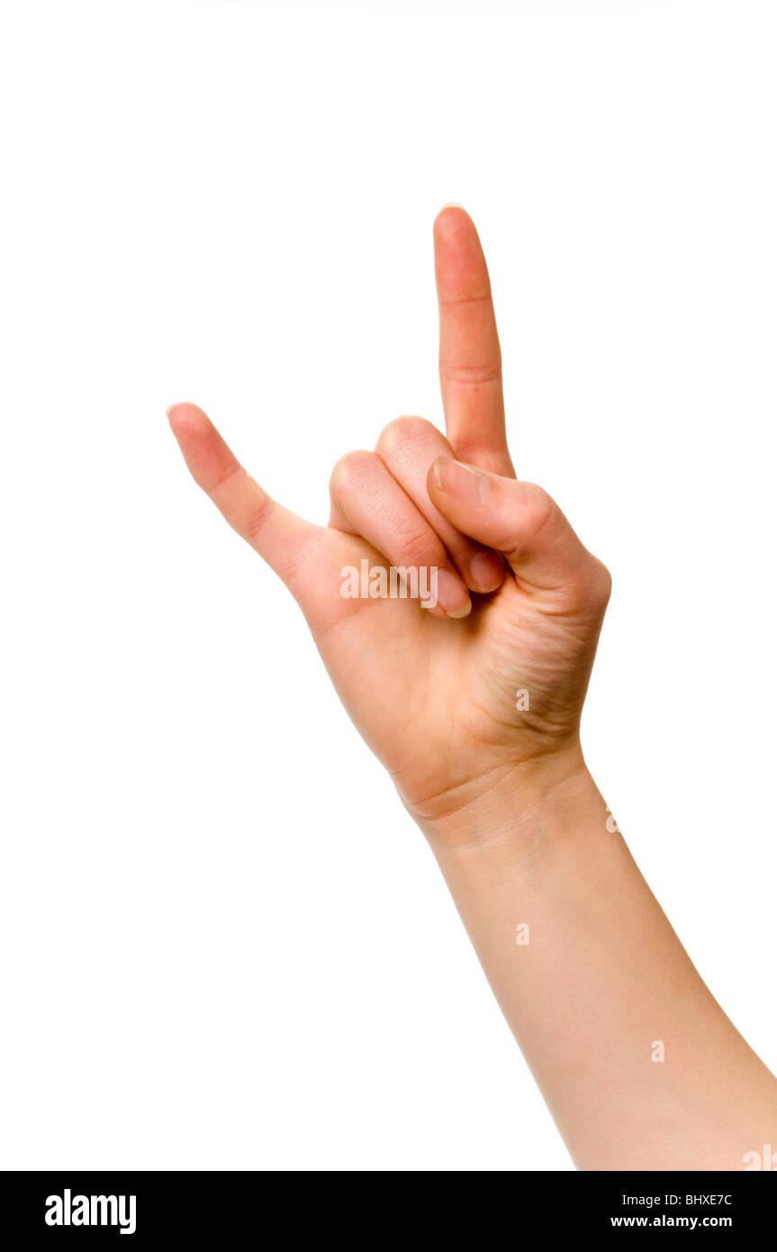 Gang Hand Sign Stock Photos Gang Hand Sign Stock Images Alamy