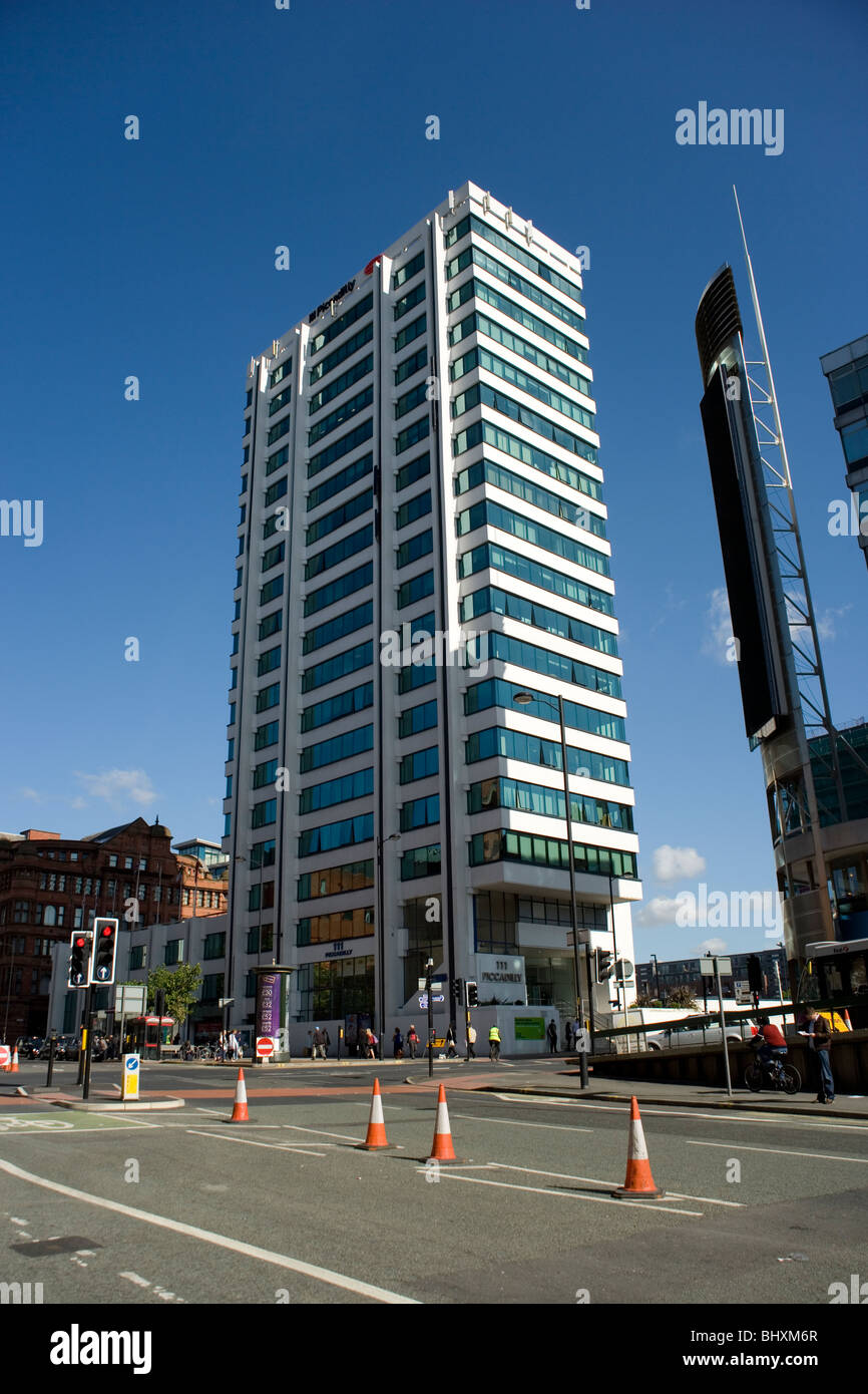 111 Picadilly tower in Manchester - Stock Image