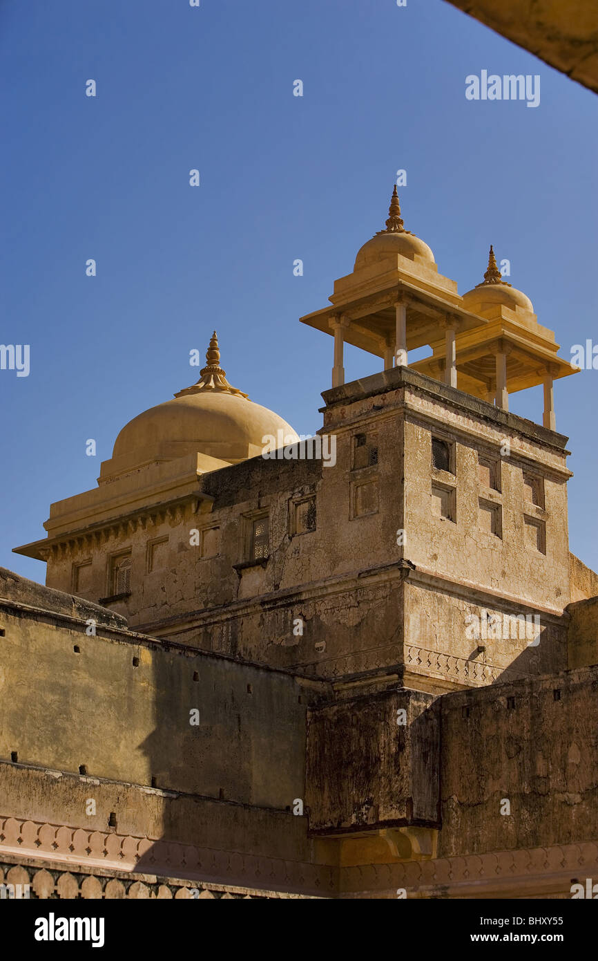 Fort Amber, North India, India, Asia - Stock Image