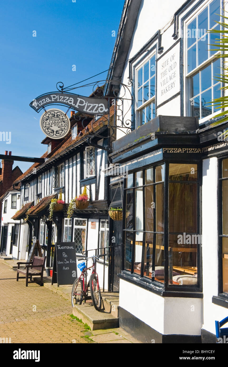 Pinner Middlesex Pizza Express Sympathetically Set In 17th