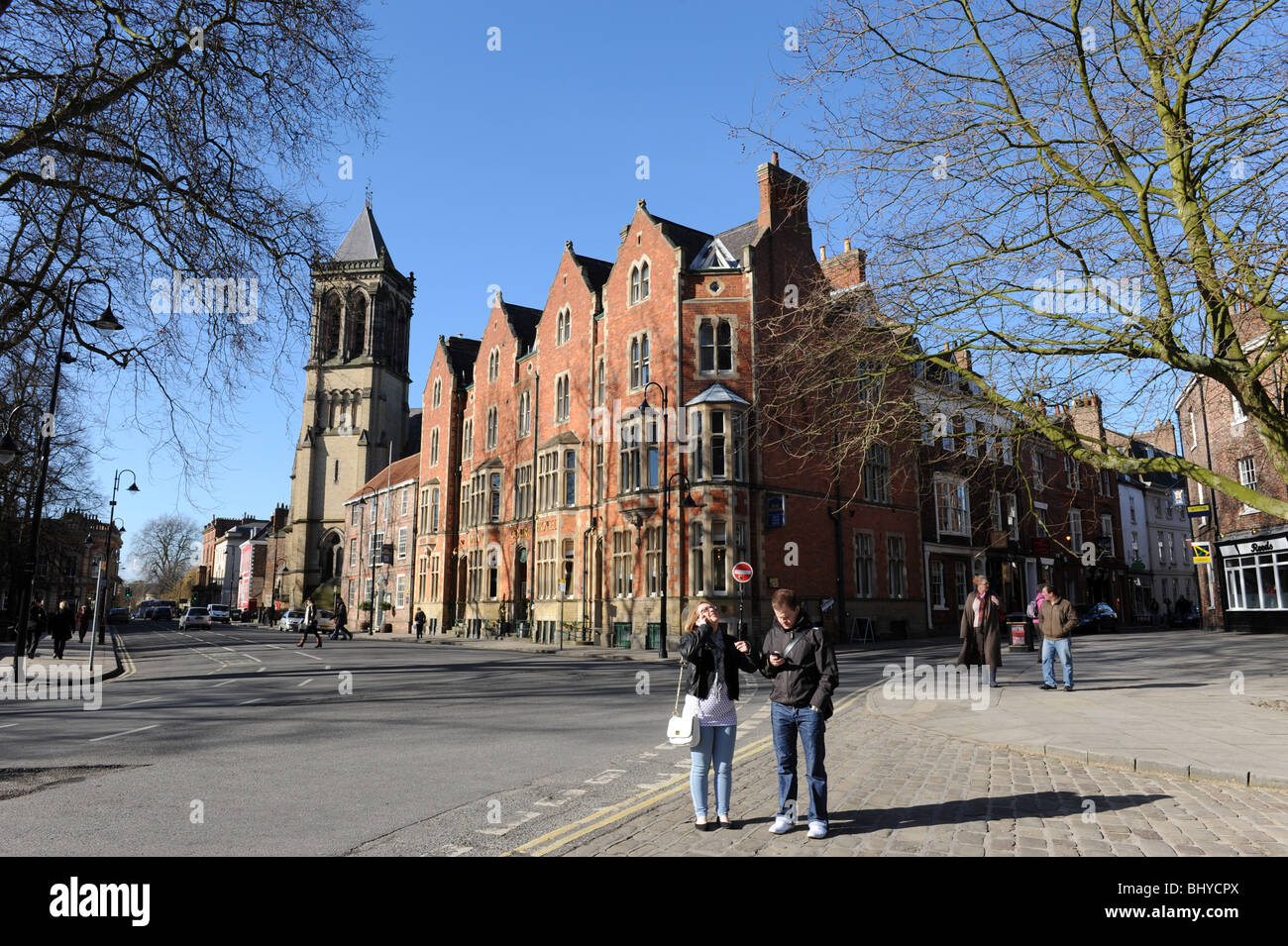 The Dean Court Hotel in City of York in North Yorkshire England Uk - Stock Image