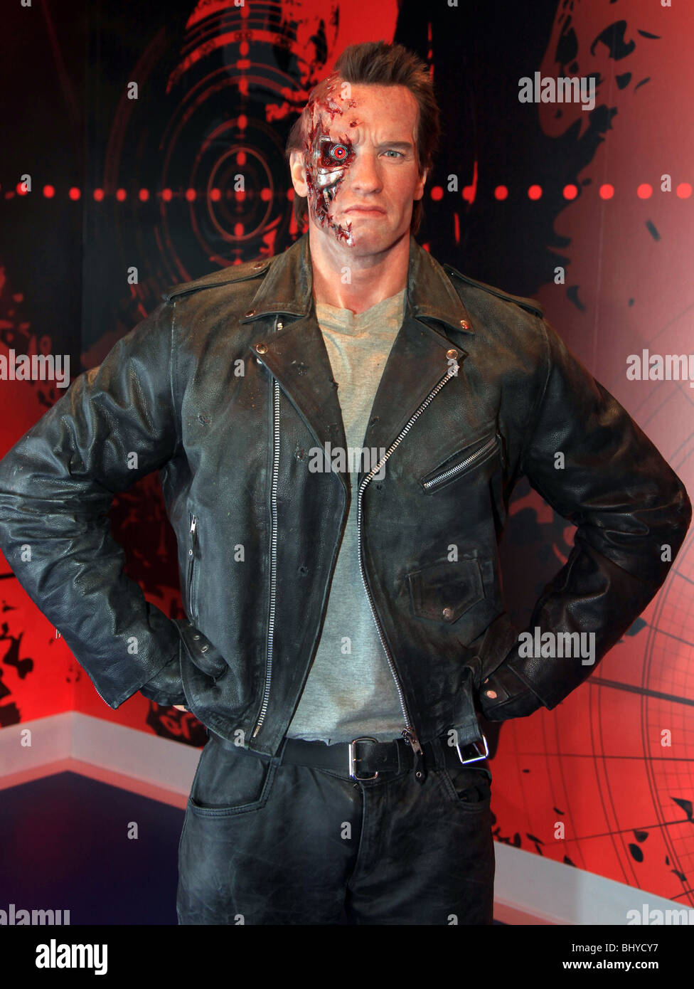 ARNOLD SCHWARZENEGGER (WAXWORK) MADAM TUSSAUDS HOLLYWOOD OPENING HOLLYWOOD LOS ANGELES CA USA 21 July 2009 - Stock Image
