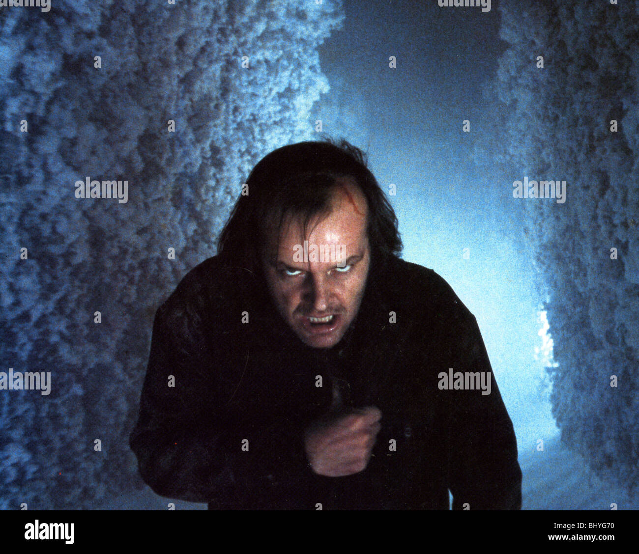 THE SHINING - 1980 Warner film with Jack Nicholson - Stock Image