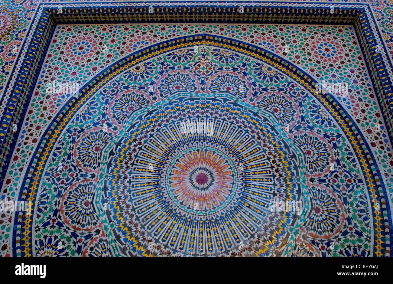Garfield Park Conservatory, Chicago, Illinois. Mosaic tile Stock ...