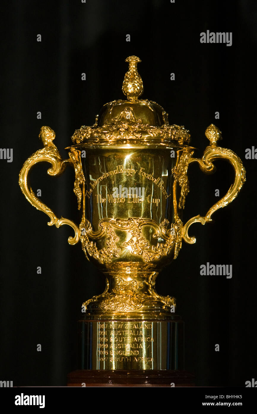 Rugby World Cup Trophy High Resolution Stock Photography And Images Alamy