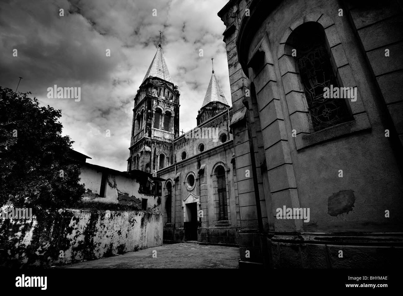 St Joseph's Cathedral, Stone Town, Zanzibar, Tanzania, East Africa - Stock Image