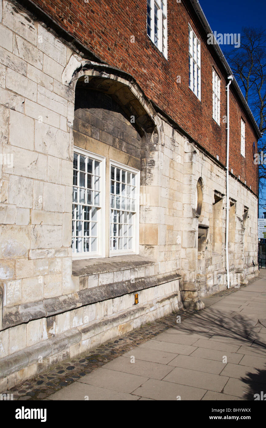 The Quilt Museum and Gallery St Anthonys Hall York Yorkshire England - Stock Image