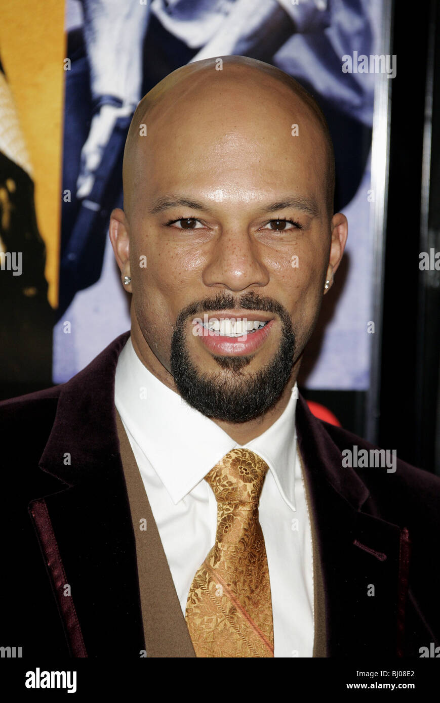 COMMON SMOKIN ACES WORLD PREMIERE GRAUMANS CHINESE HOLLYWOOD LOS ANGELES USA 18 January 2007 - Stock Image