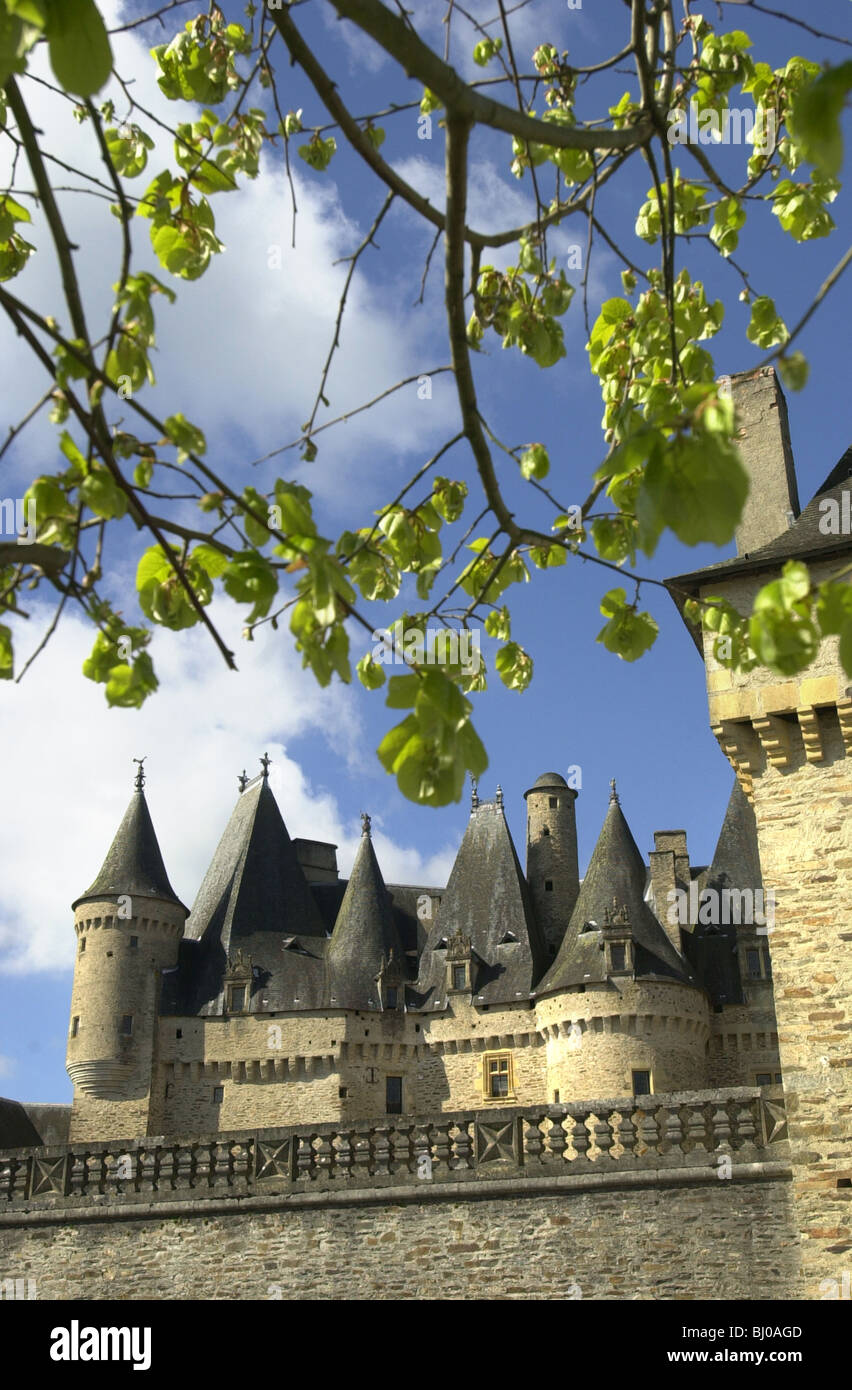 Jumilhac le Grand Dordogne France. Site of a 12 th centuary feudal fortress. - Stock Image