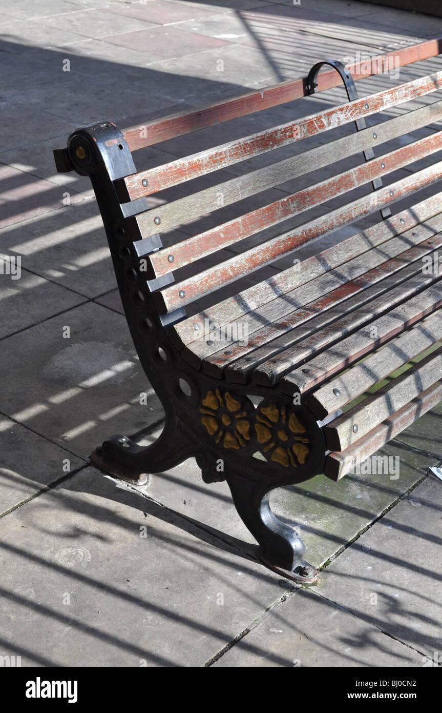 Brilliant Wooden Garden Bench Stock Photos Wooden Garden Bench Stock Gamerscity Chair Design For Home Gamerscityorg