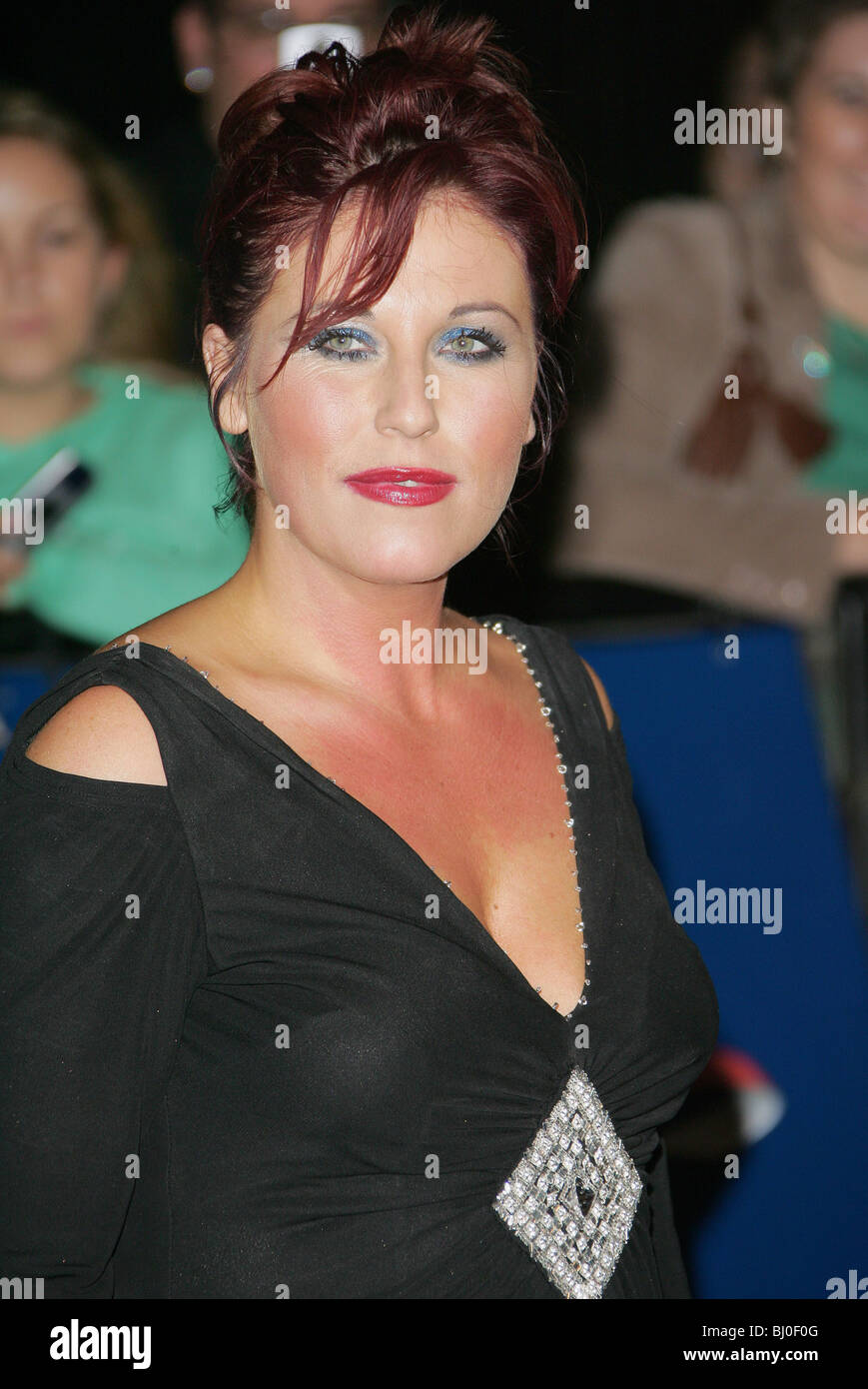 JESSIE WALLACE ACTRESS ROYAL ALBERT HALL  LONDON  ENGLAND 25/10/2005 - Stock Image
