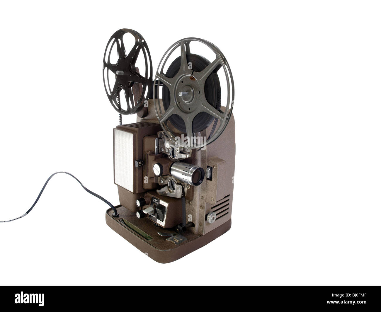 Vintage 8 mm Film Projector in mint condition. - Stock Image