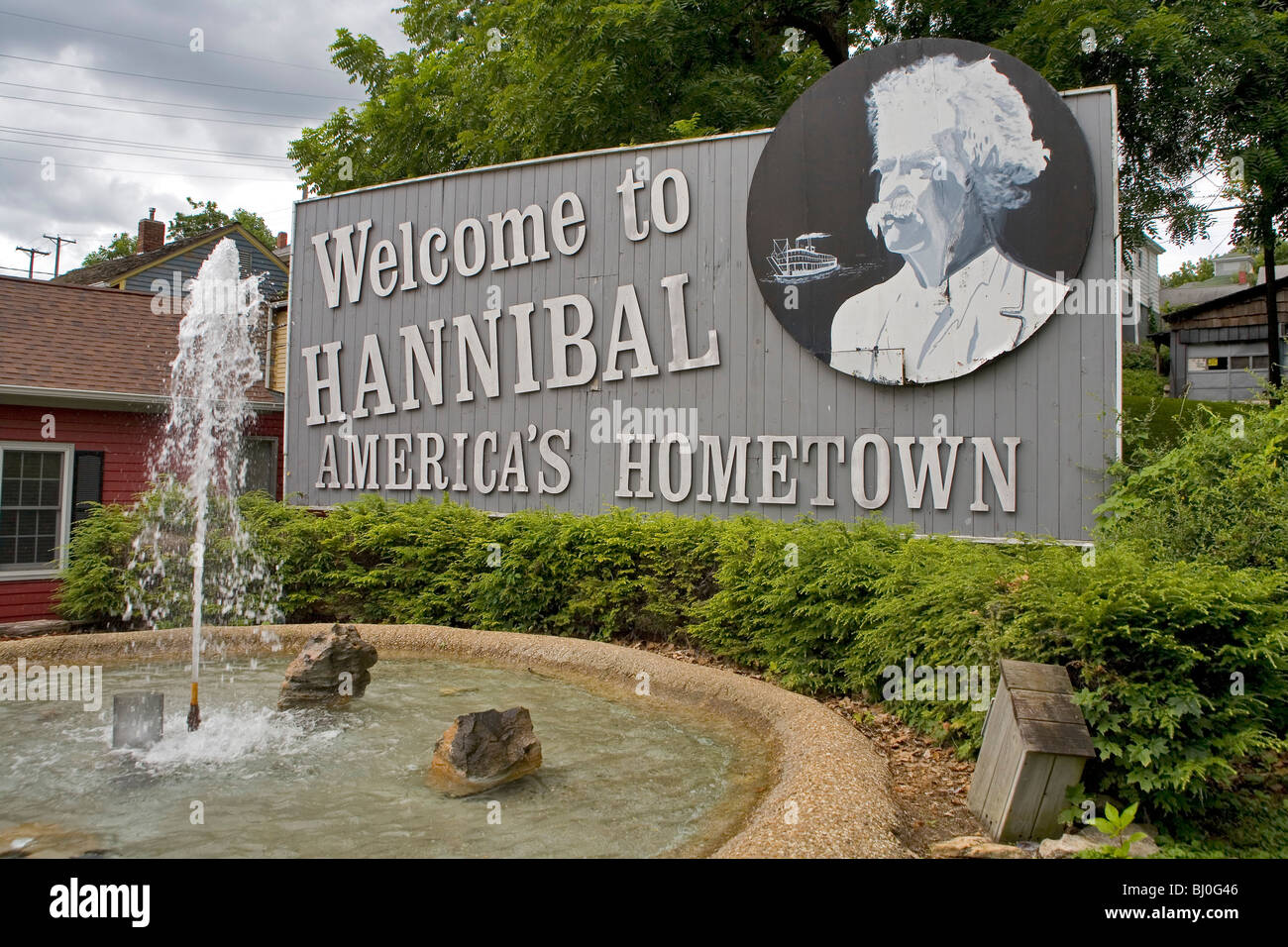 Hannibal Visitors Bureau - Stock Image