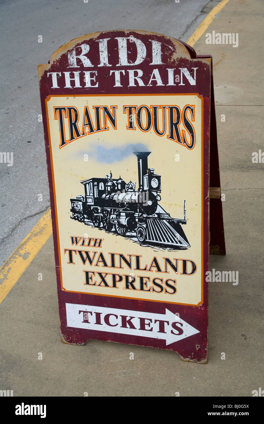 Twainland Express Sightseeing Tours - Stock Image