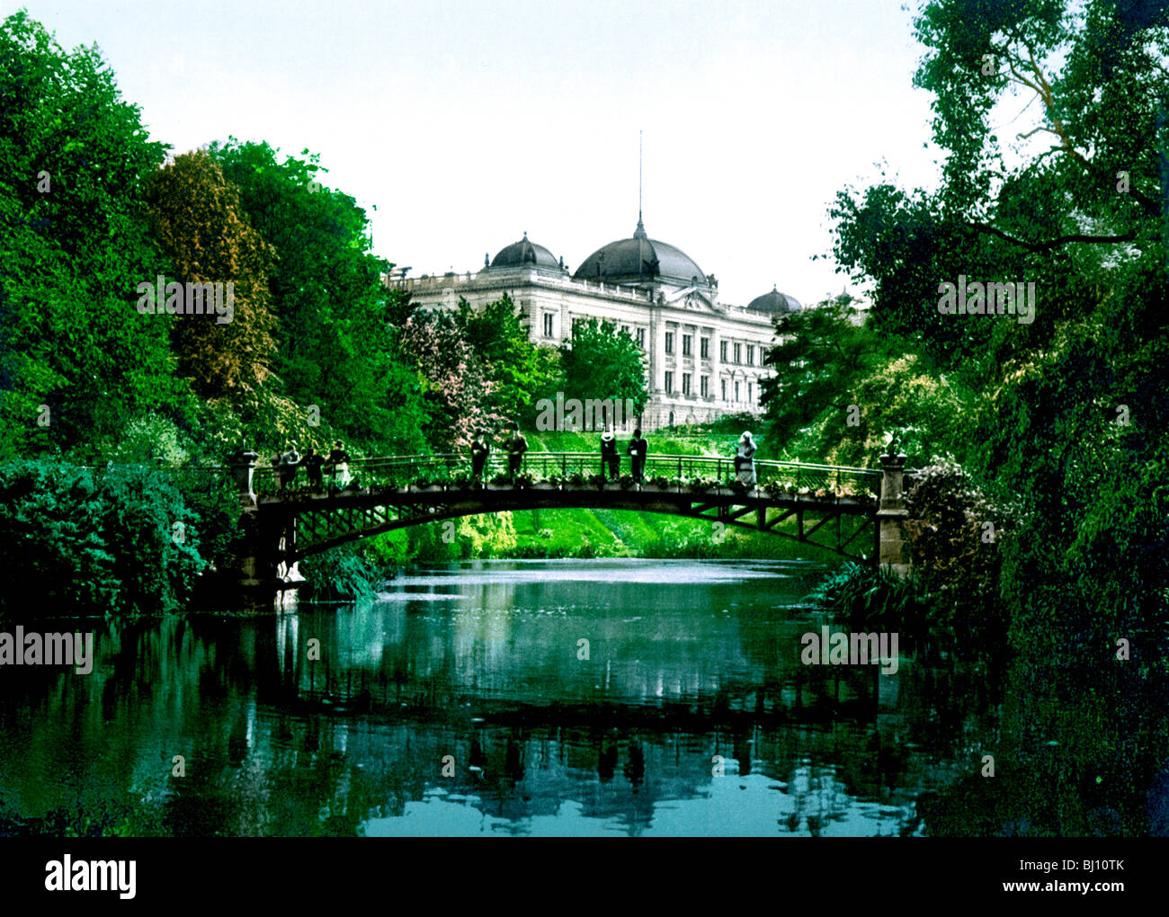 Botanischer Garten Hamburg Stock Photo 28296819 Alamy
