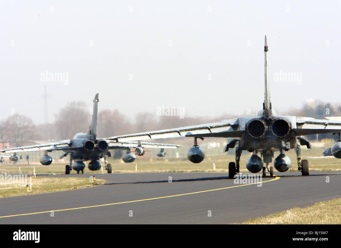Reconnaissance squadron 51 Immelmann, Jagel, Germany - Stock Image