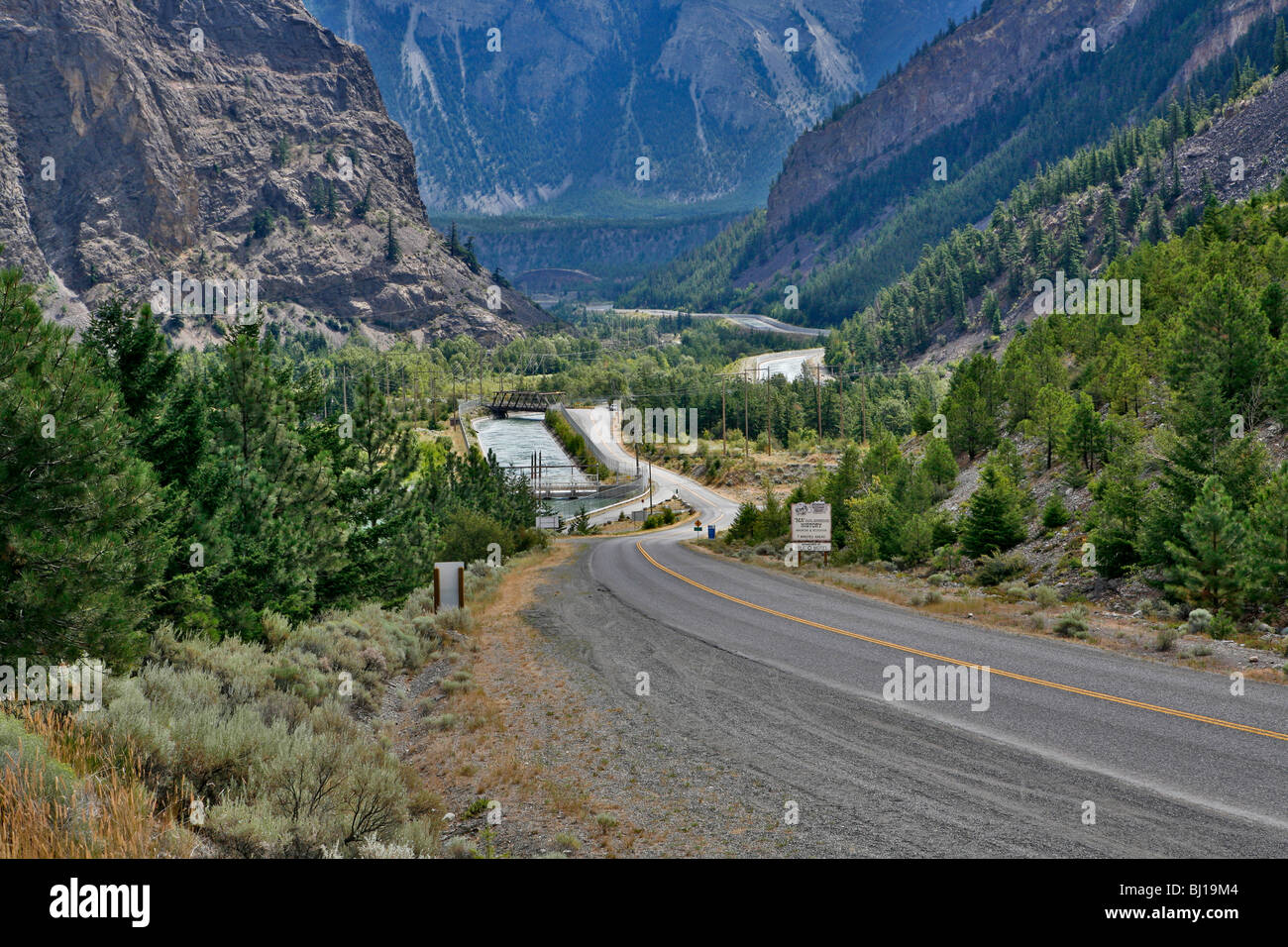 Highway 99 Near Lillooet British Columbia Canada