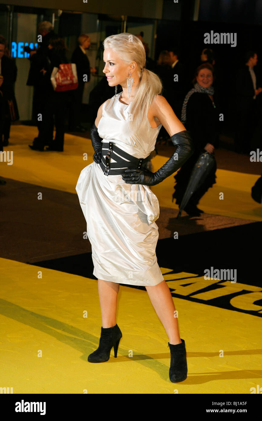 SEPTEMBER WATCHMEN FILM PREMIERE ODEON LEICESTER SQUARE CINEMA LONDON LEICESTER SQUARE LONDON ENGLAND 23 February - Stock Image