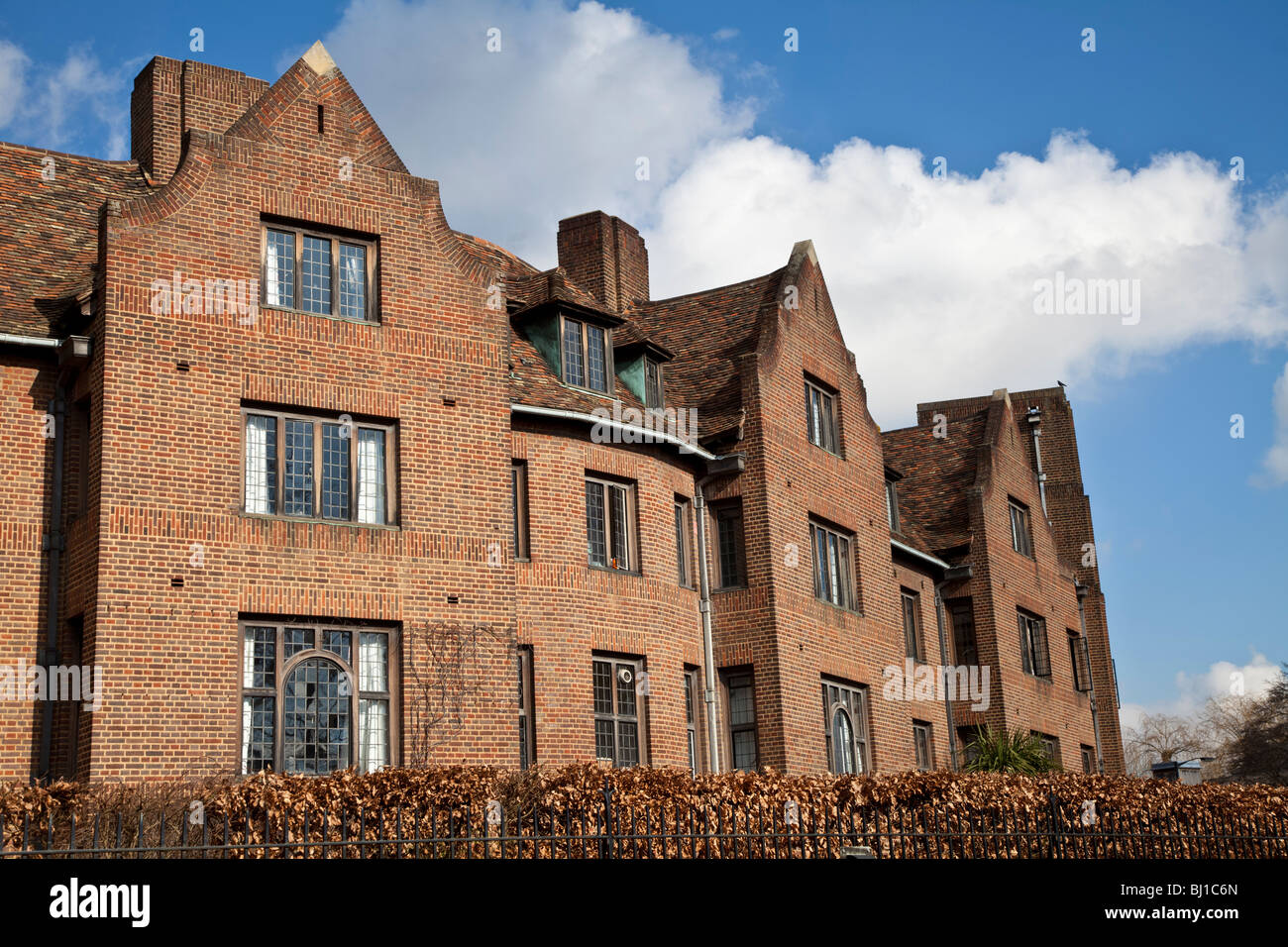 The Fisher Building, part of Queens College Cambridge - Stock Image