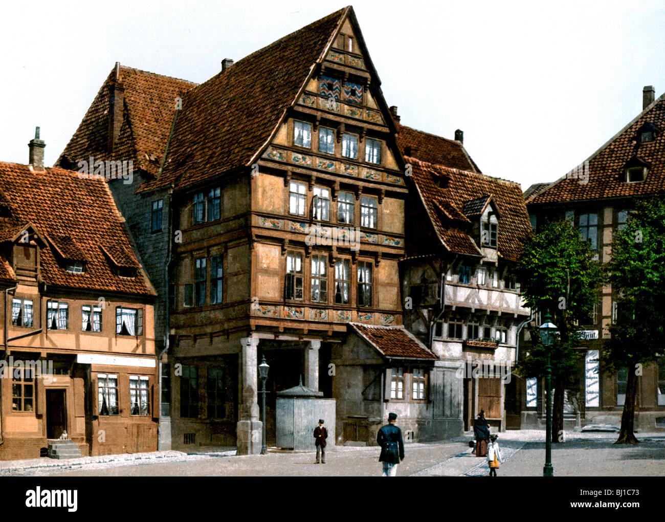 Pfleiderhaus Hildesheim - Stock Image