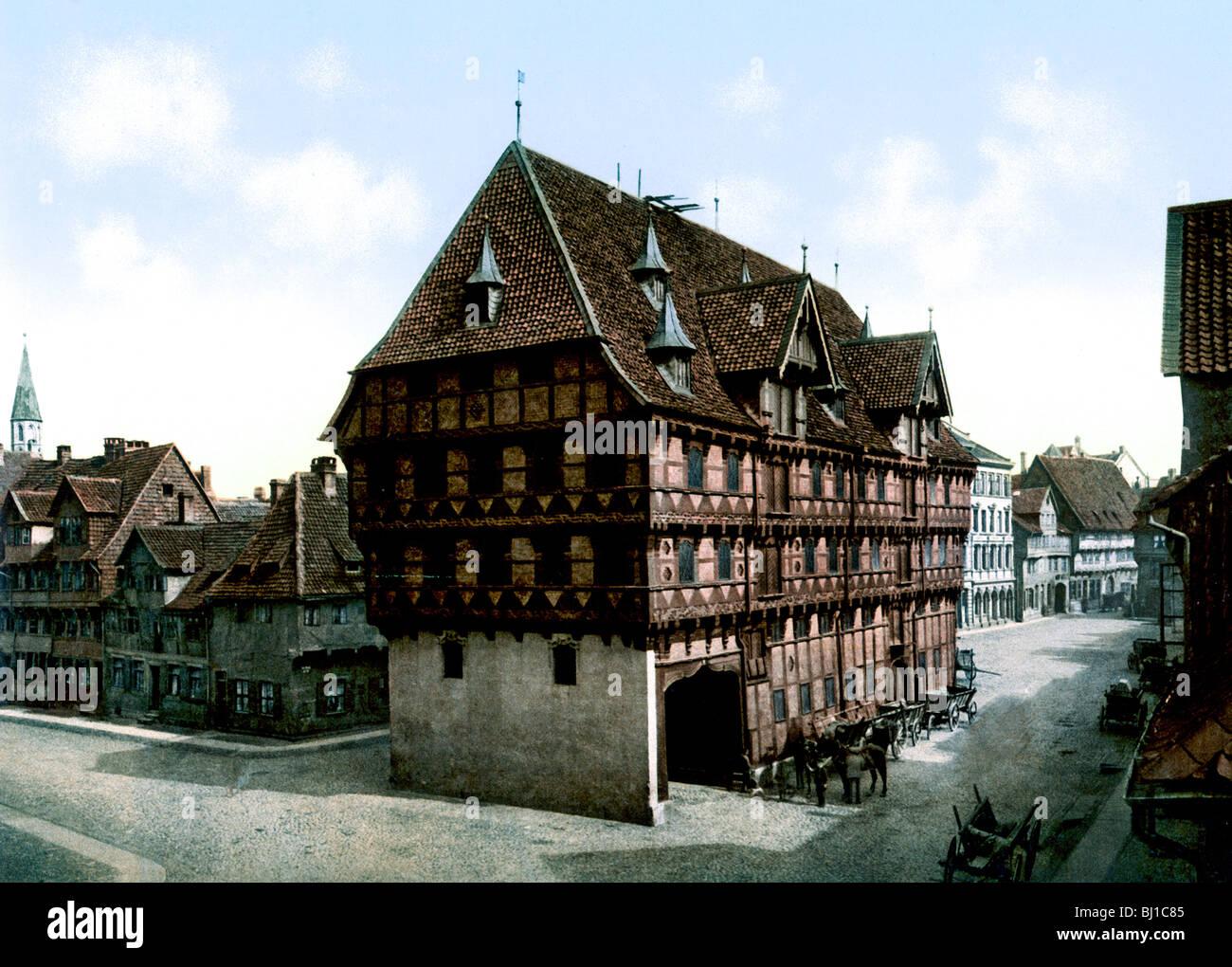 Die Waage Braunschweig - Stock Image