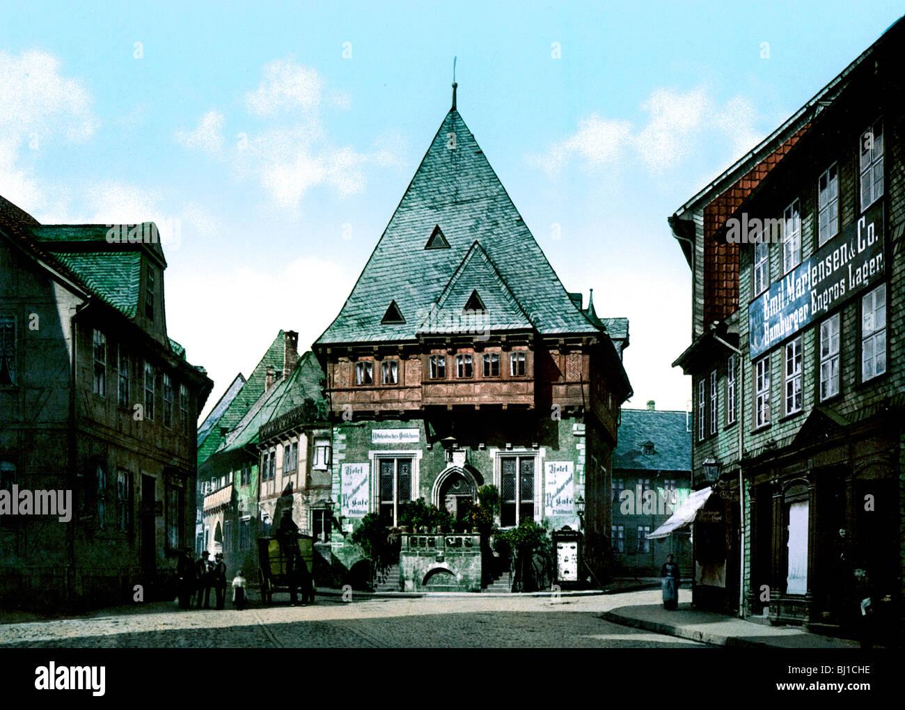Gewandhaus Goslar - Stock Image