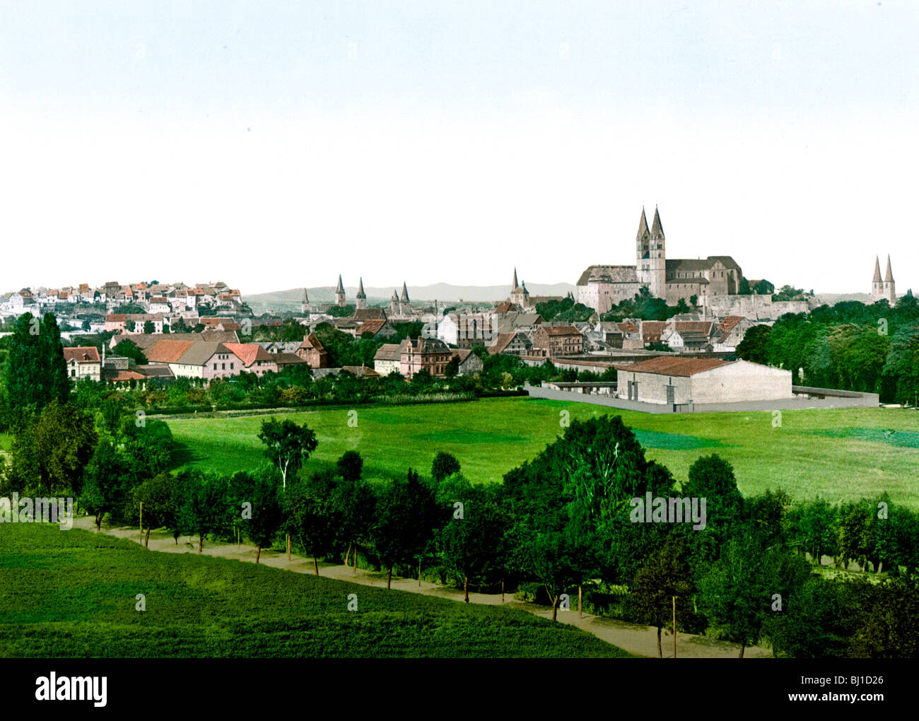 Quedlinburg Hartz - Stock Image
