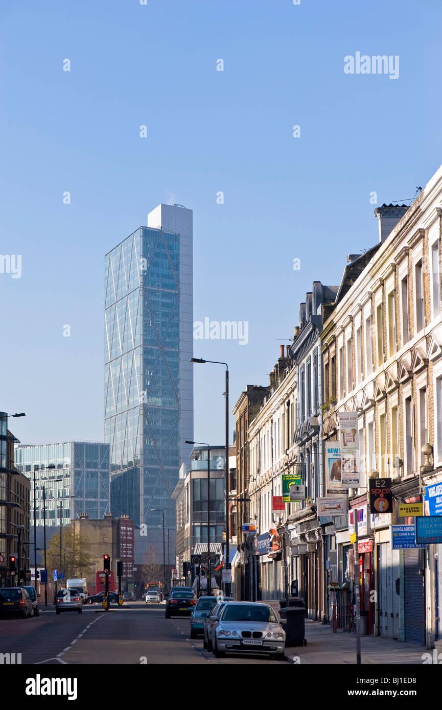 Bethnal Green Road, London, United Kingdom - Stock Image