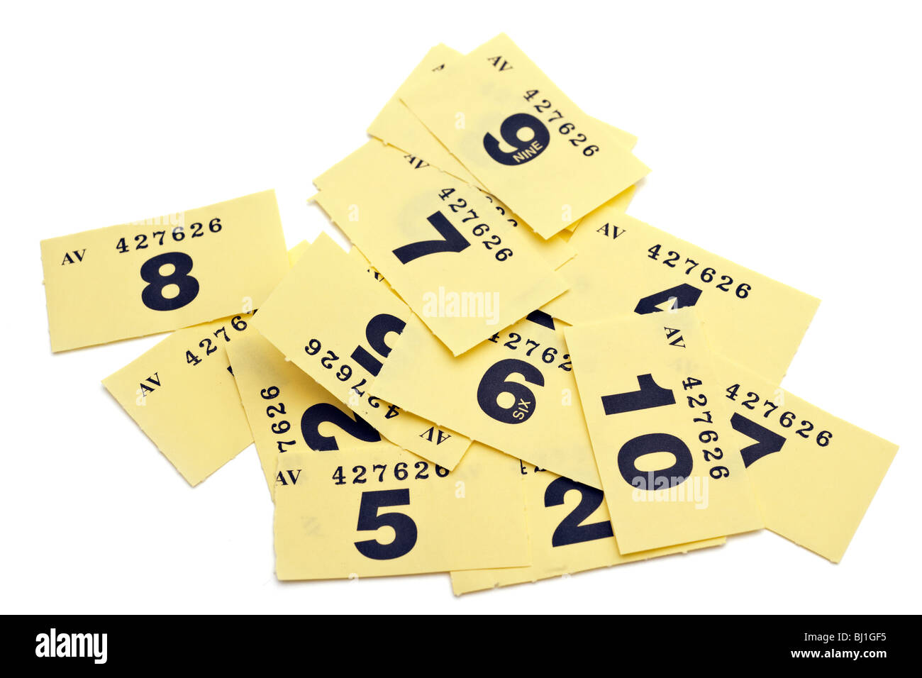 numbered tickets stock photos numbered tickets stock images alamy