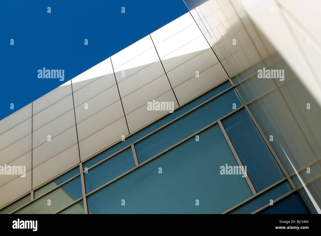 Barcelona Museum of Contemporary Art - MACBA - Stock Image