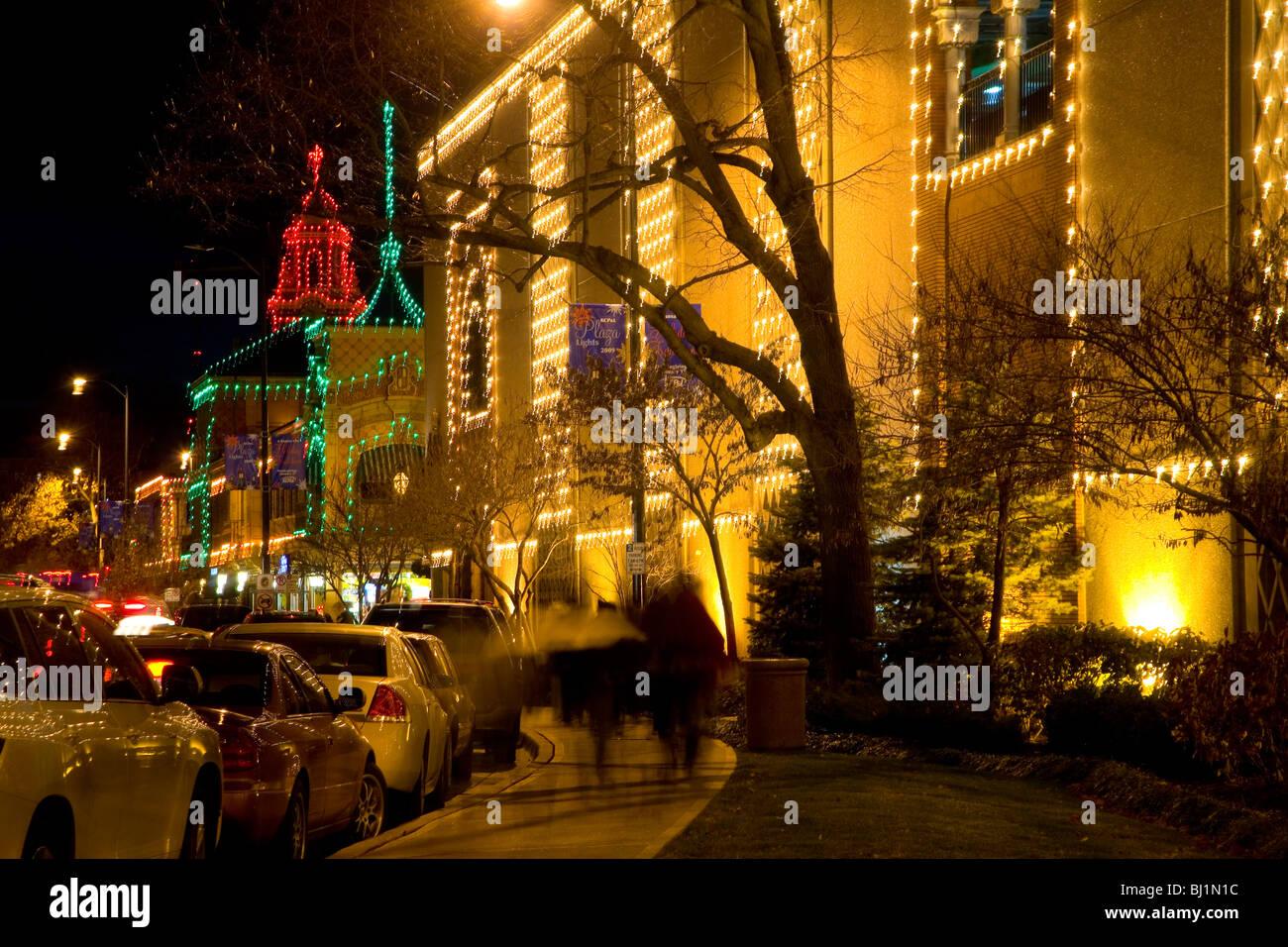 Country Club Plaza Christmas Lights in Kansas City, MO Stock Photo ...
