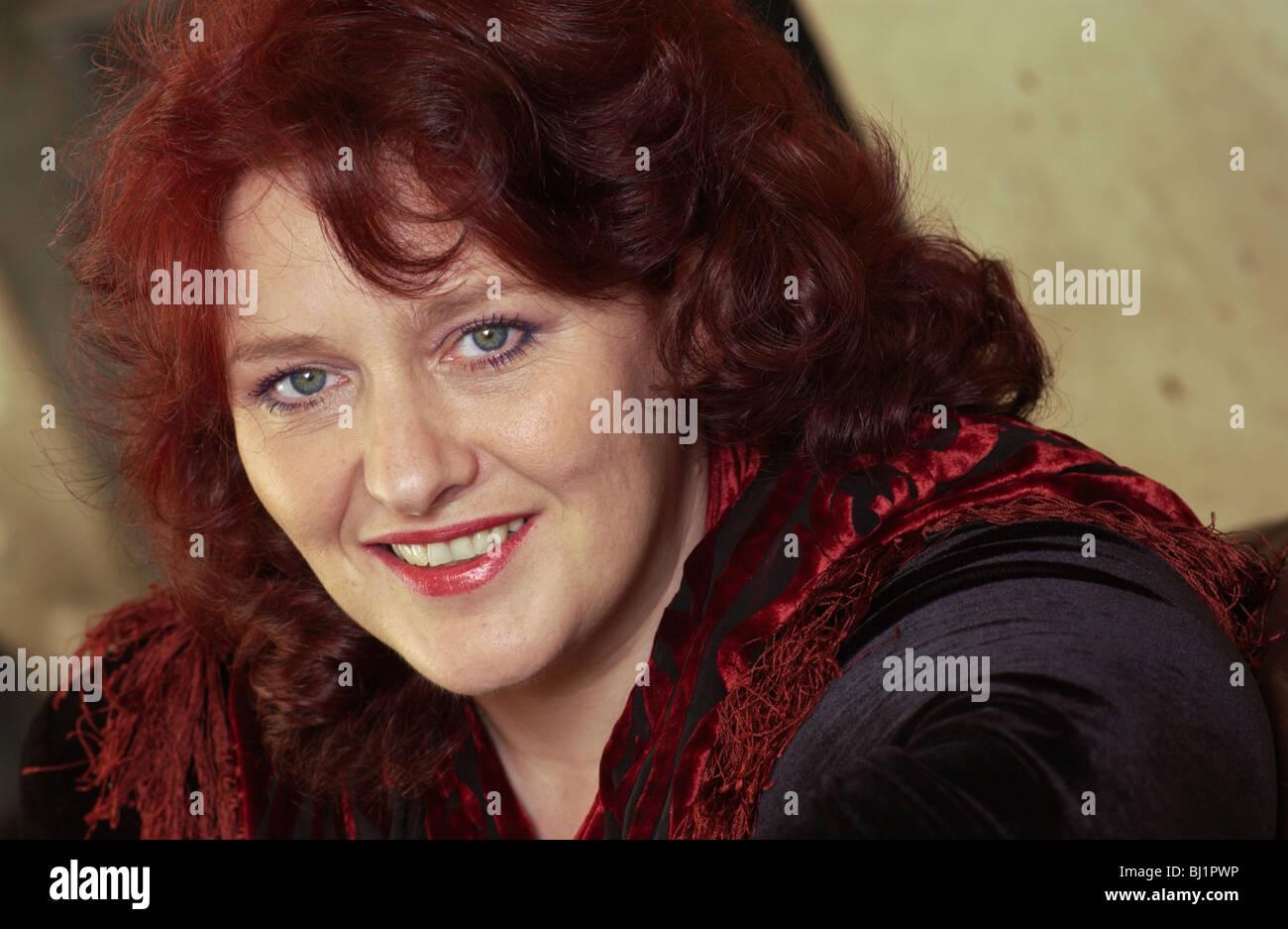 British singer mezzo-soprano Catherine Wyn-Rogers Stock Photo