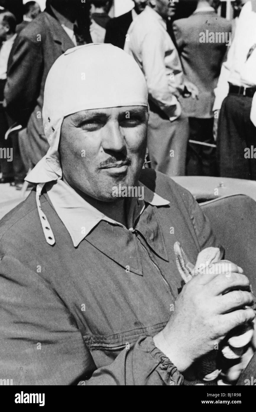 1953 Formula One World Championship.. Albert Scherrer (CH).. HW Motors. - Stock Image